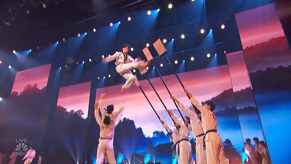 World Taekwondo demonstration team reaches America's Got Talent final