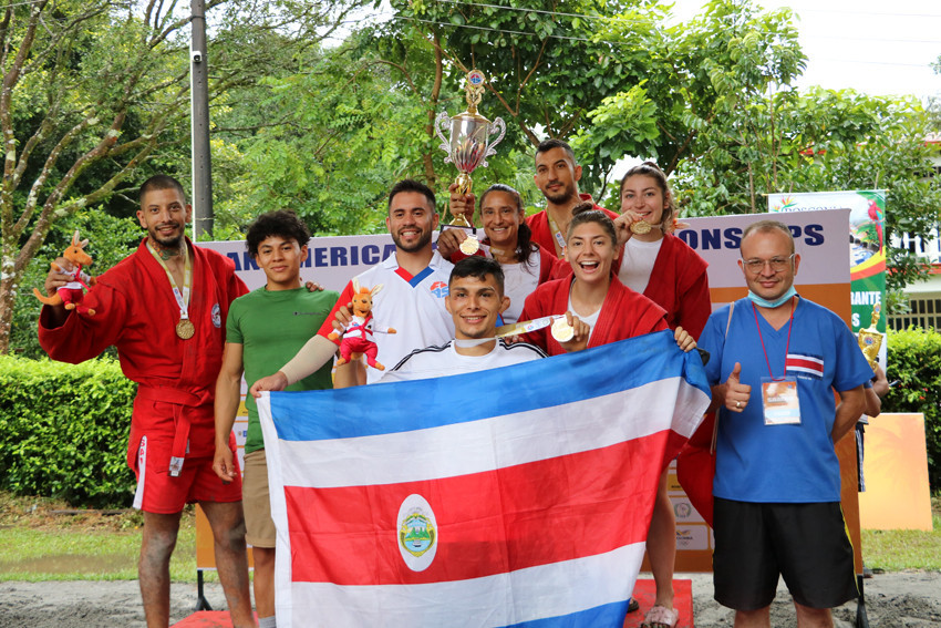 After dominating the 2021 Pan American Sambo Championships in Colombia this summer, Costa Rica will host the 2022 competition ©FIAS
