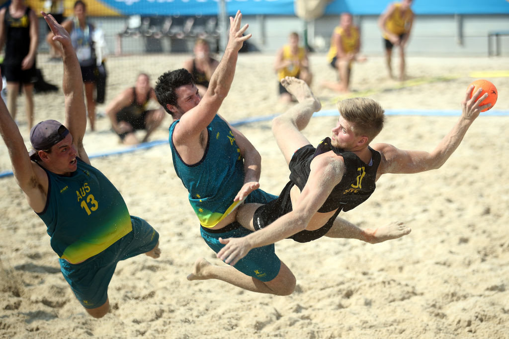 Beach handball is among the sports set to feature on the Asian Beach Games programme ©Getty Images