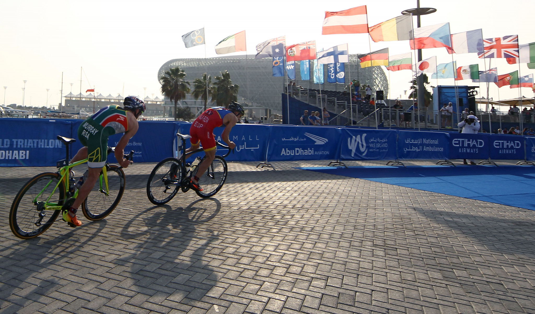 Abu Dhabi hosted the first World Triathlon Championships Series event of the season from 2015 to 2019 ©Getty Images