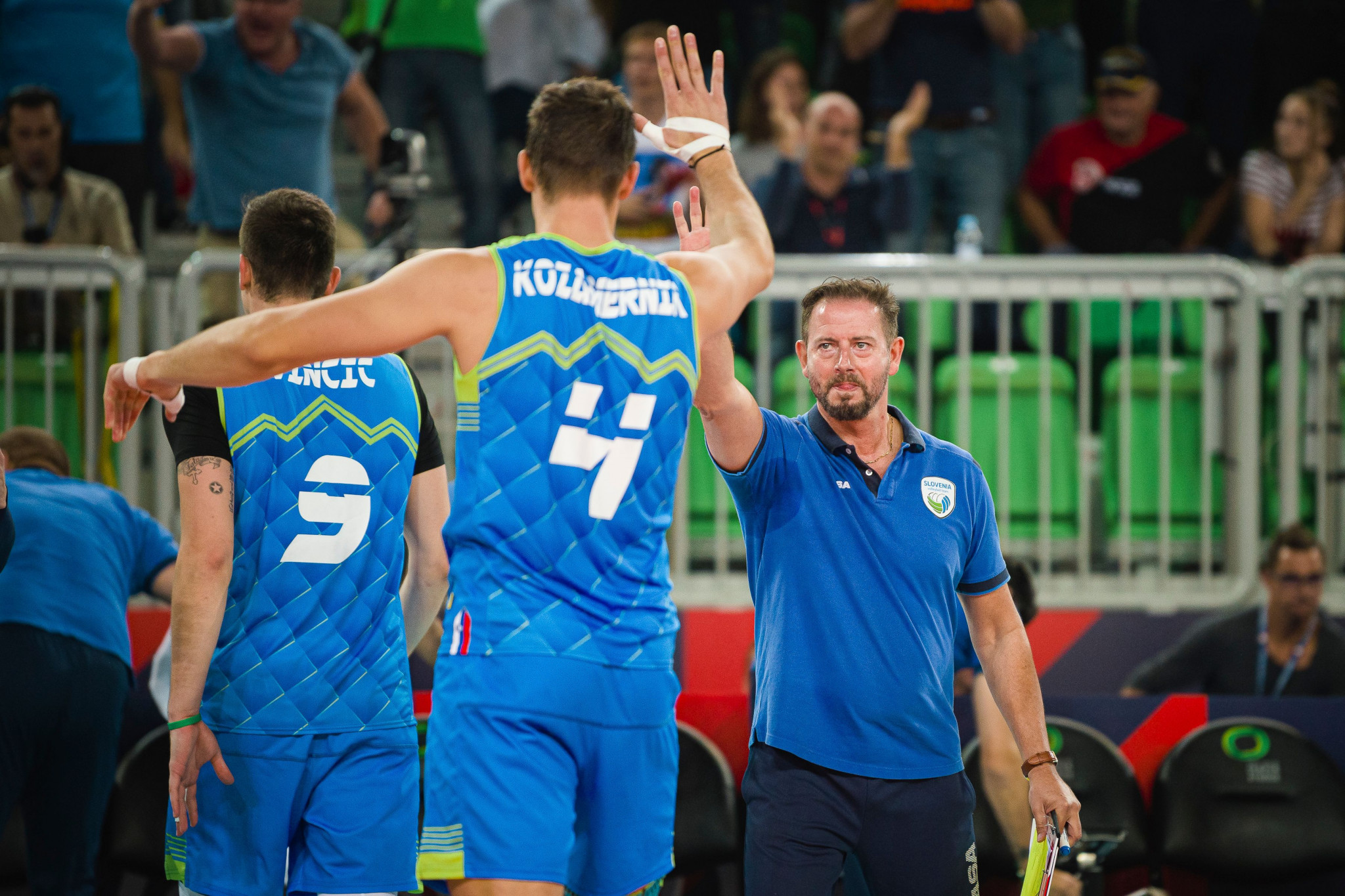 Slovenia were runners-up in 2019, and will play a co-host nation for the second successive match in the semi-finals ©Getty Images