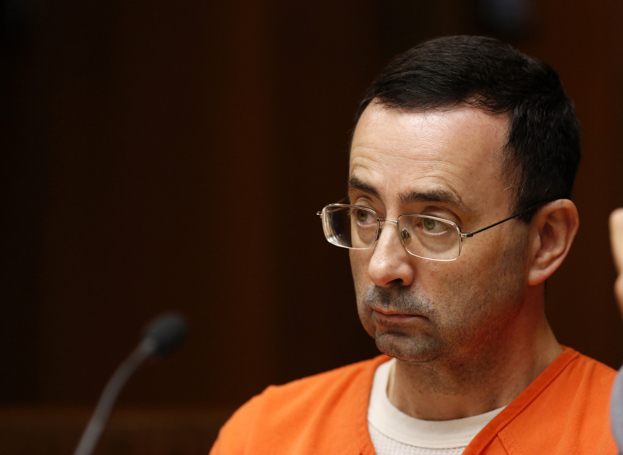 The disgraced former USA Gymnastics doctor Larry Nassar is serving an effective life sentence  ©Getty Images