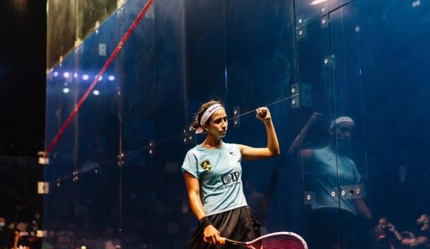 Second seed Nouran Gohar set up a semi-final against Amanda Sobhy ©PSA