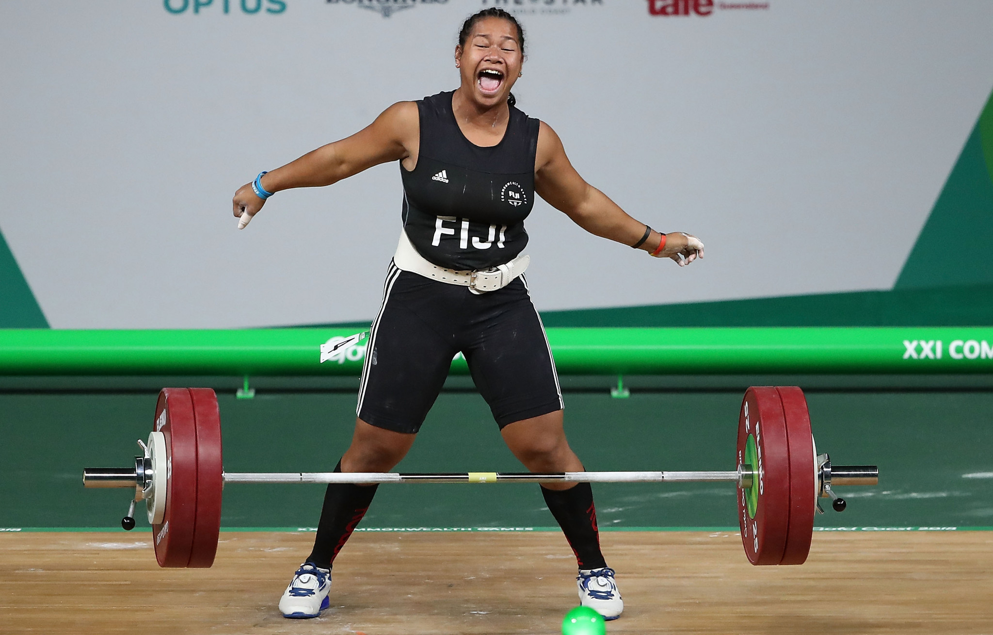 Eileen Cikamatana won Fiji's first Commonwealth Games gold since 1982 at the last edition on the Gold Coast in 2018 ©Getty Images