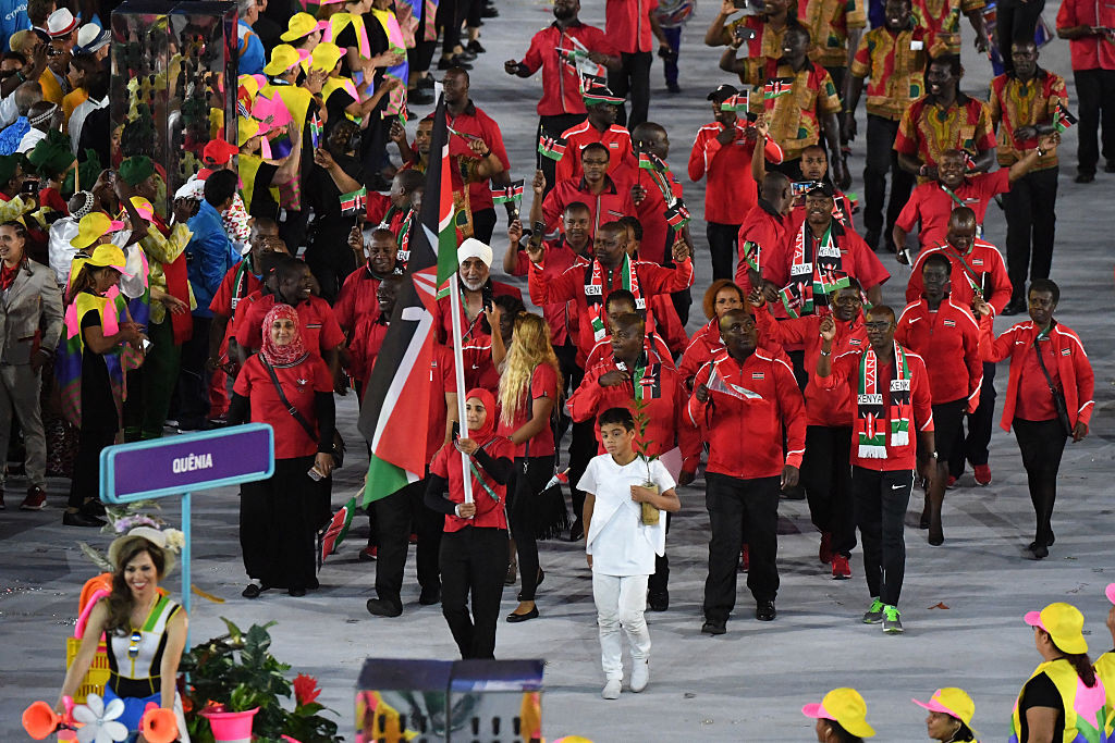 Kenya's performance at the 2016 Olympics in Rio de Janeiro was overshadowed by the corruption scandal ©Getty Images