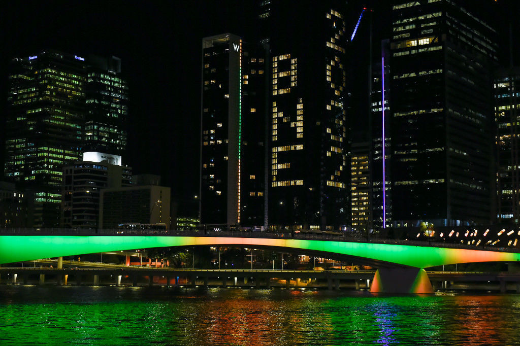 Brisbane was officially awarded the 2032 Olympics and Paralympics in July ©Getty Images