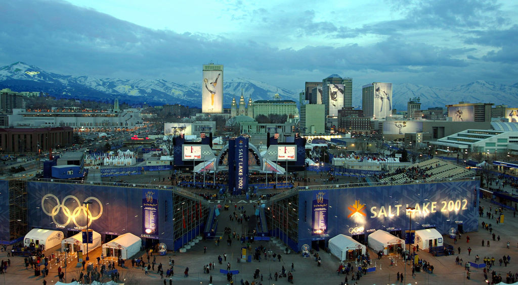 Salt Lake City staged the 2002 Winter Olympics and Paralympics ©Getty Images