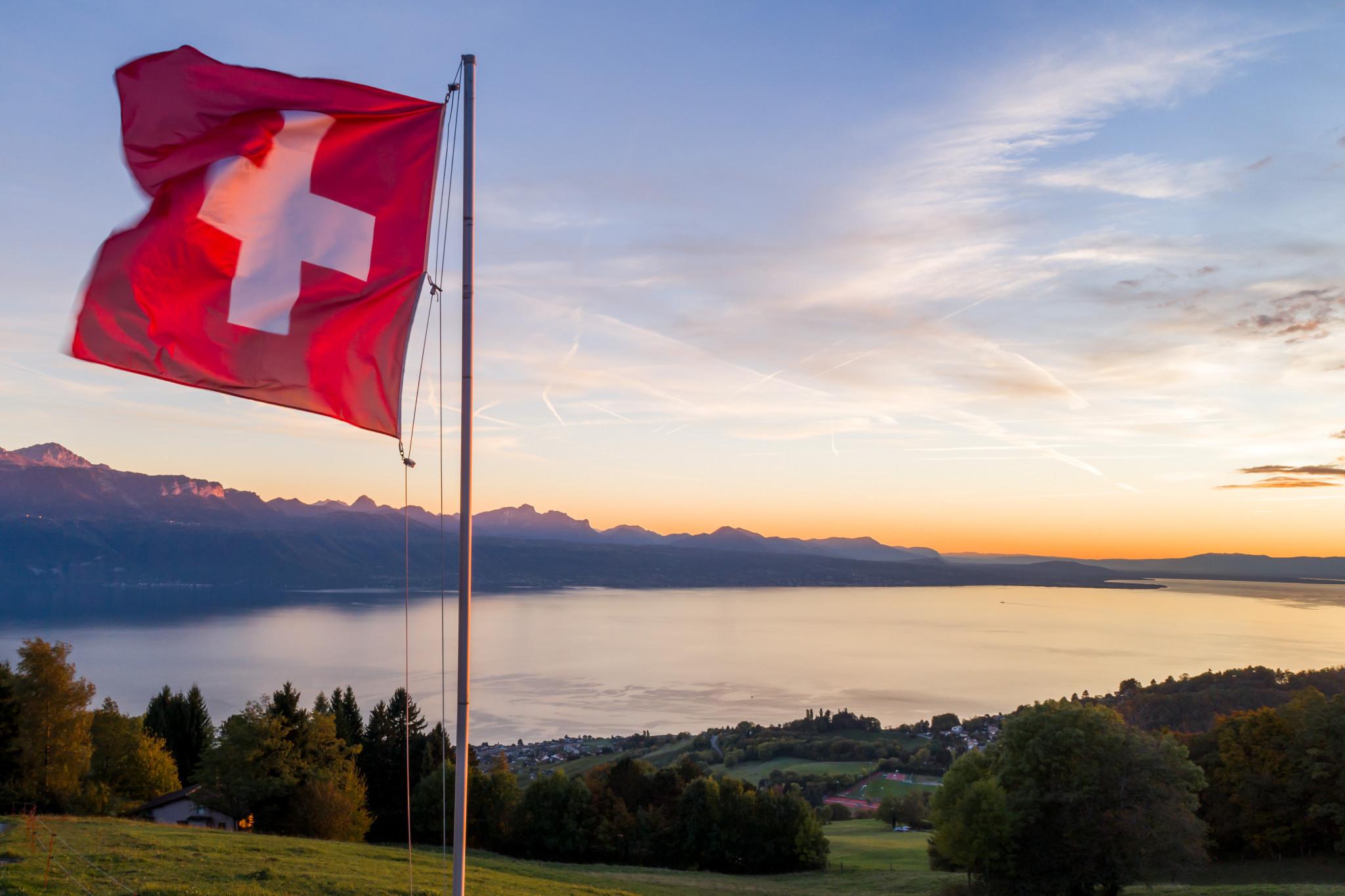 Hornussen is an indigenous sport in Switzerland ©Getty Images