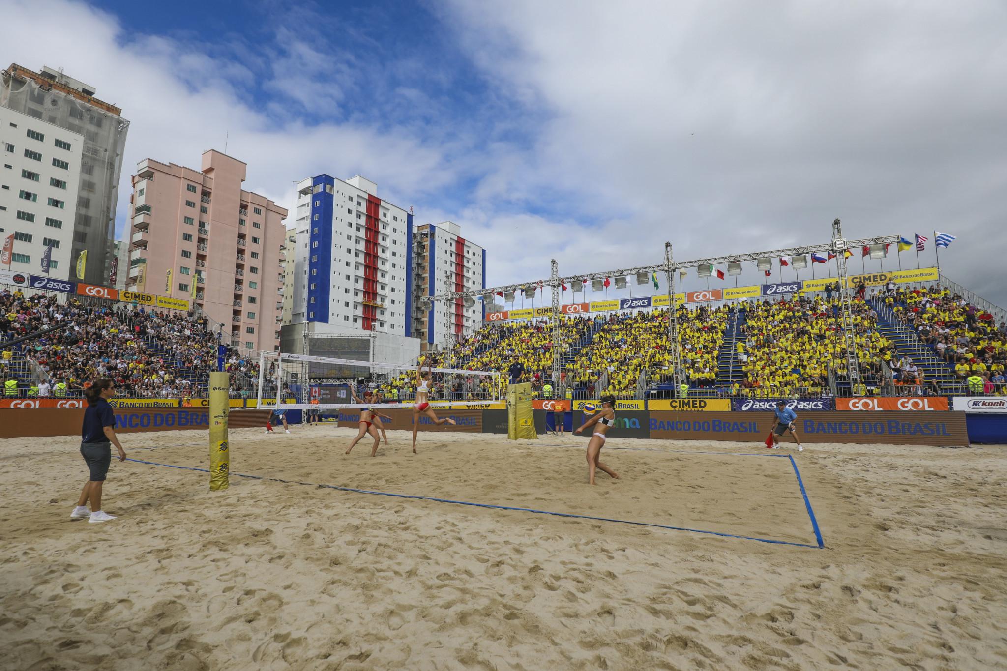 Itapema FIVB Beach Volleyball World Tour event rescheduled for November