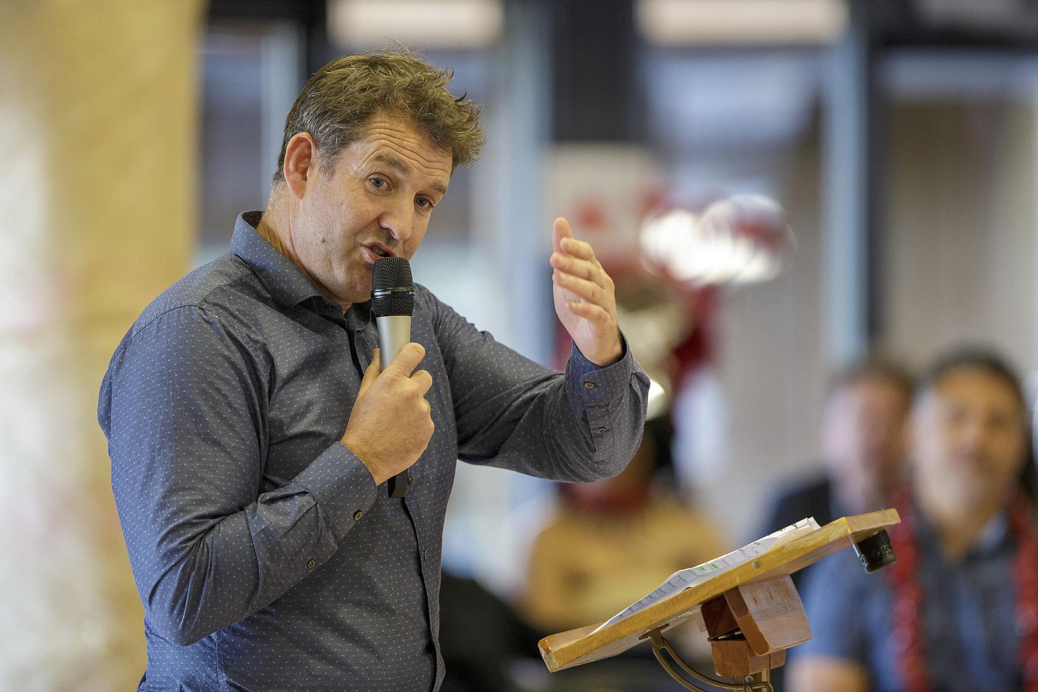 NZ Rugby chief executive Mark Robinson said he was