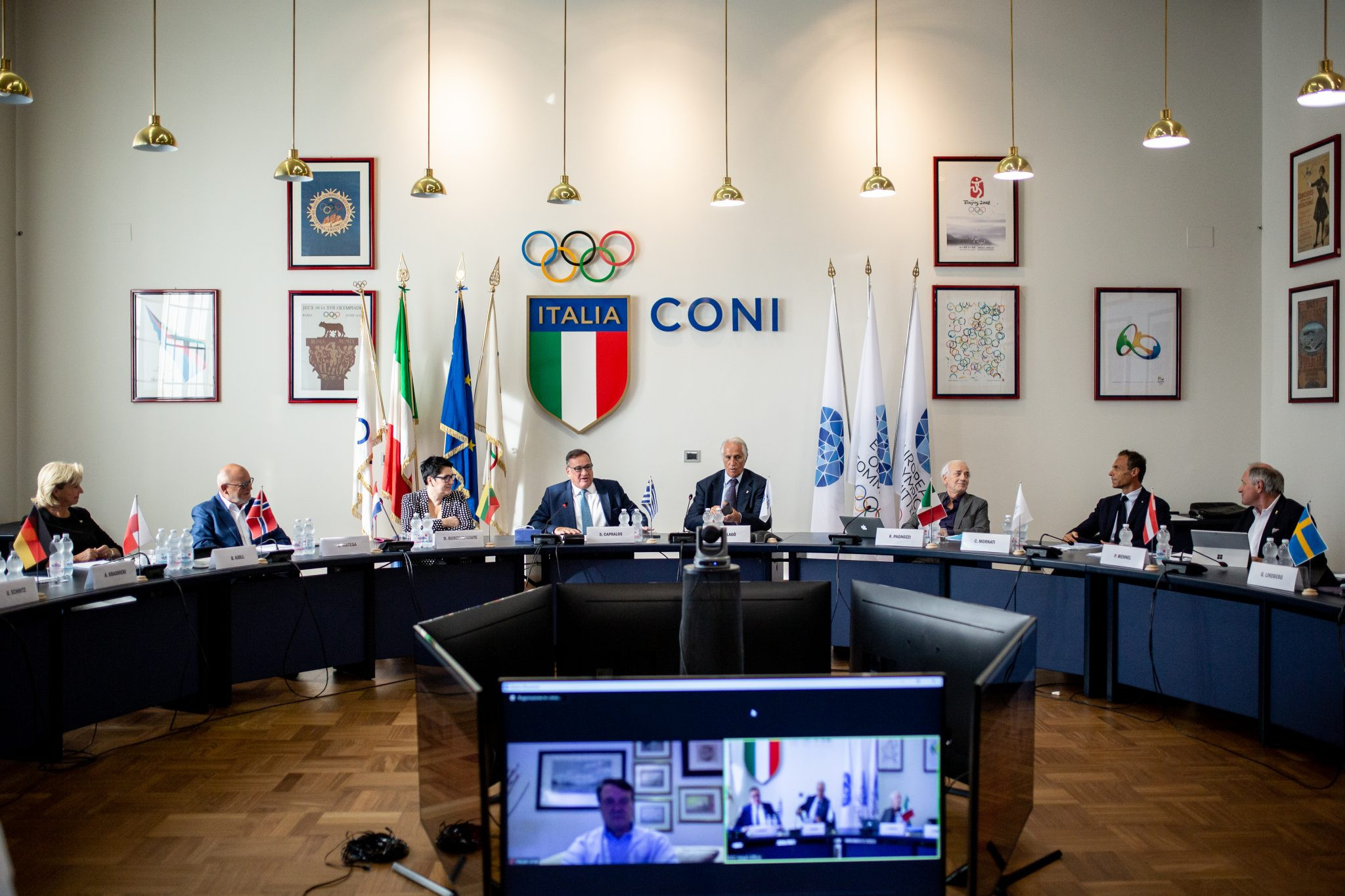 ANOC secretary general reports to EOC Executive Committee
