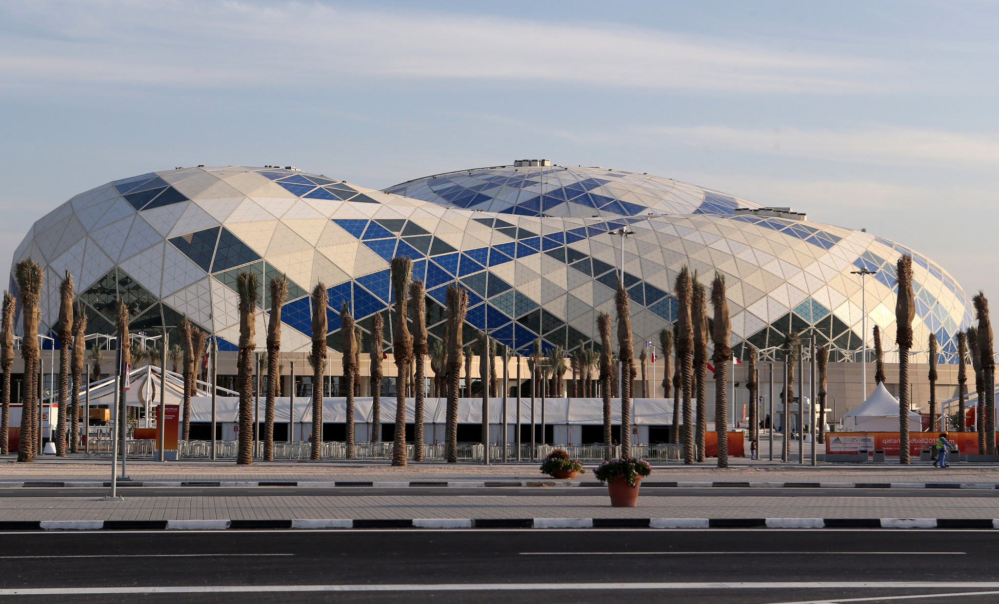 The Lusail Sports Arena is set to host the WTT Star Contender in Doha from September 20 to 25 ©Getty Images