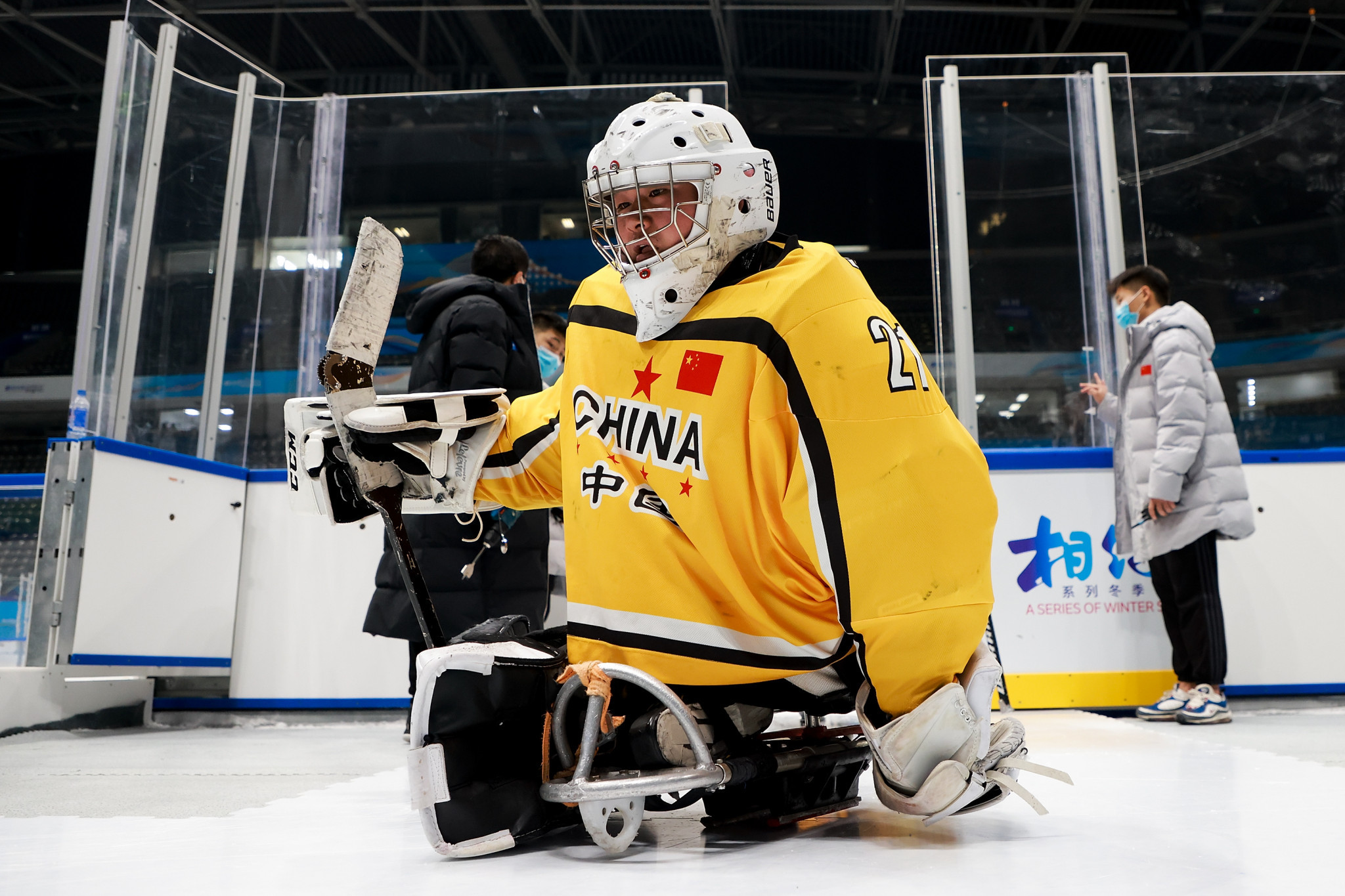 Six teams start quest for Beijing 2022 qualification spot at World Para Ice Hockey Championships B-Pool