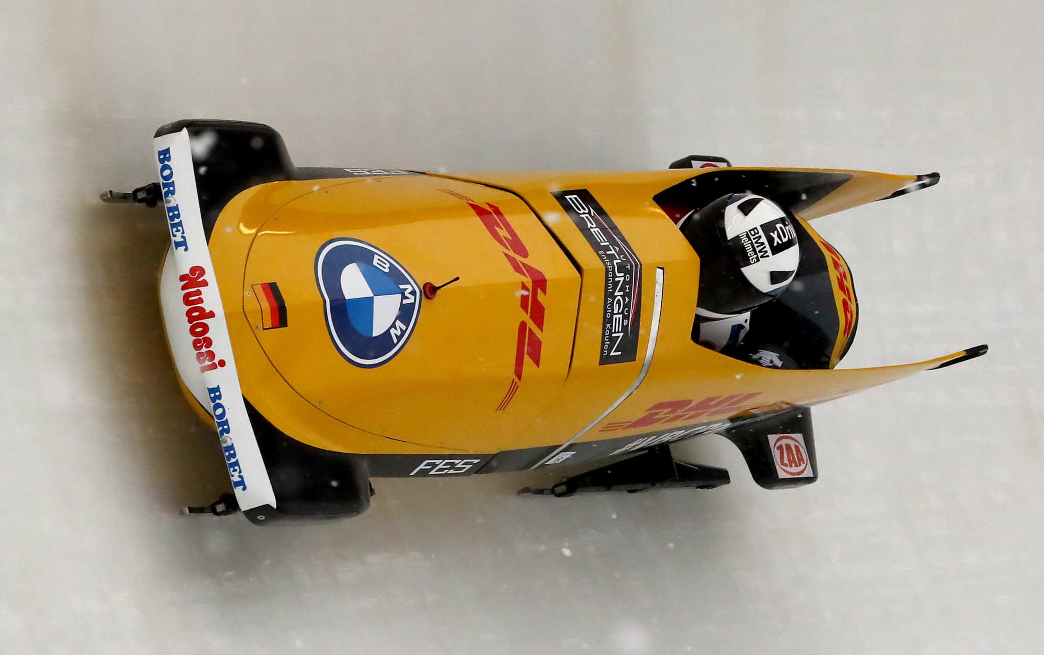 German bobsleigh pilot Hannighofer ruled out of 2021-2022 season with knee injury