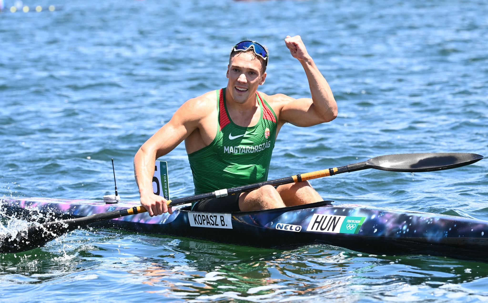 Olympic medallists Jørgensen and Kopasz ease through heats at ICF Canoe Sprint World Championships