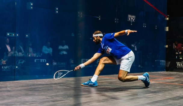 Top seed Mohamed ElShorbagy is looking to win the Egyptian Open for the first time as he makes his first appearance at the tournament since 2016 ©PSA
