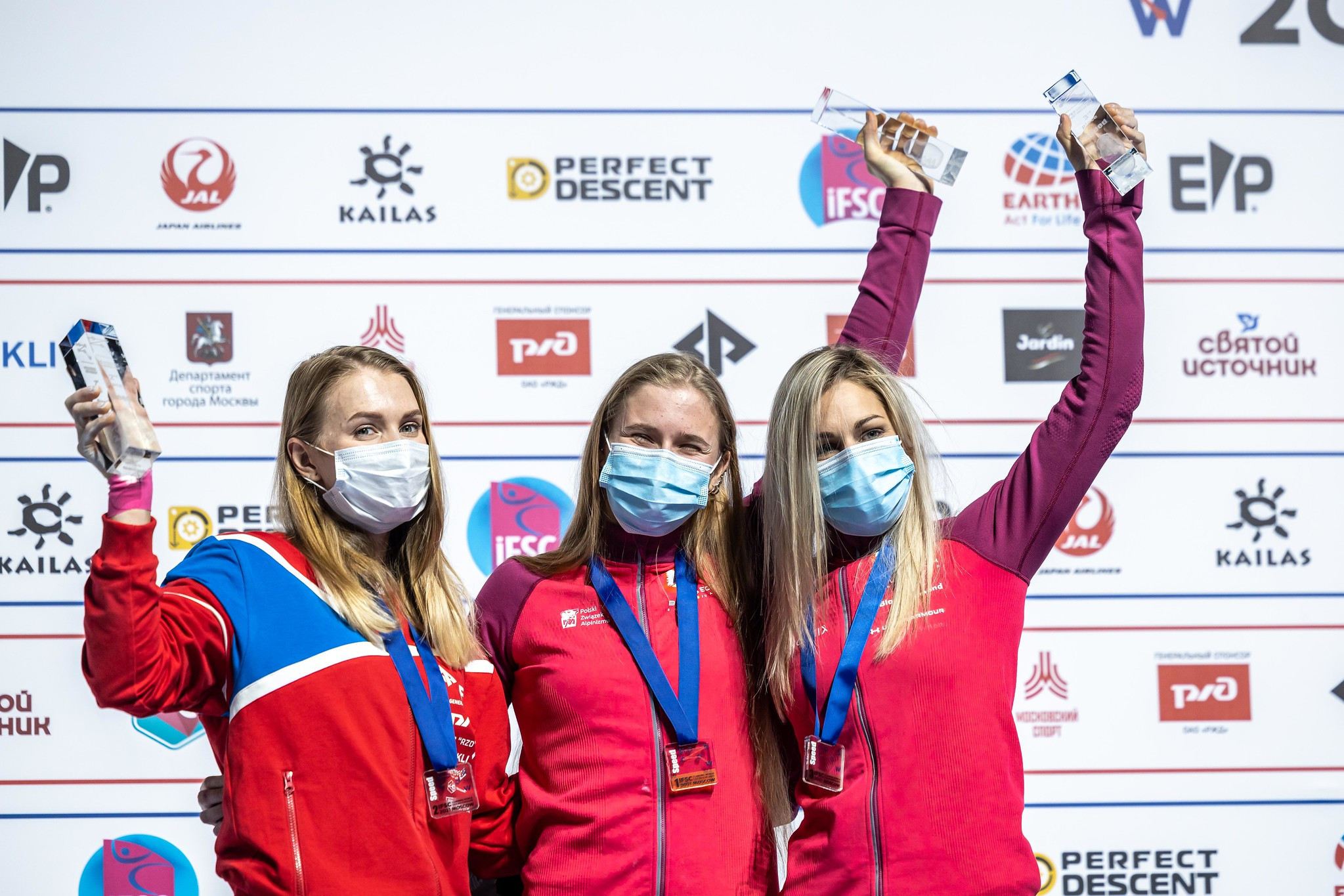 Boldyrev and Kalucka take speed titles on opening day of IFSC World Championships