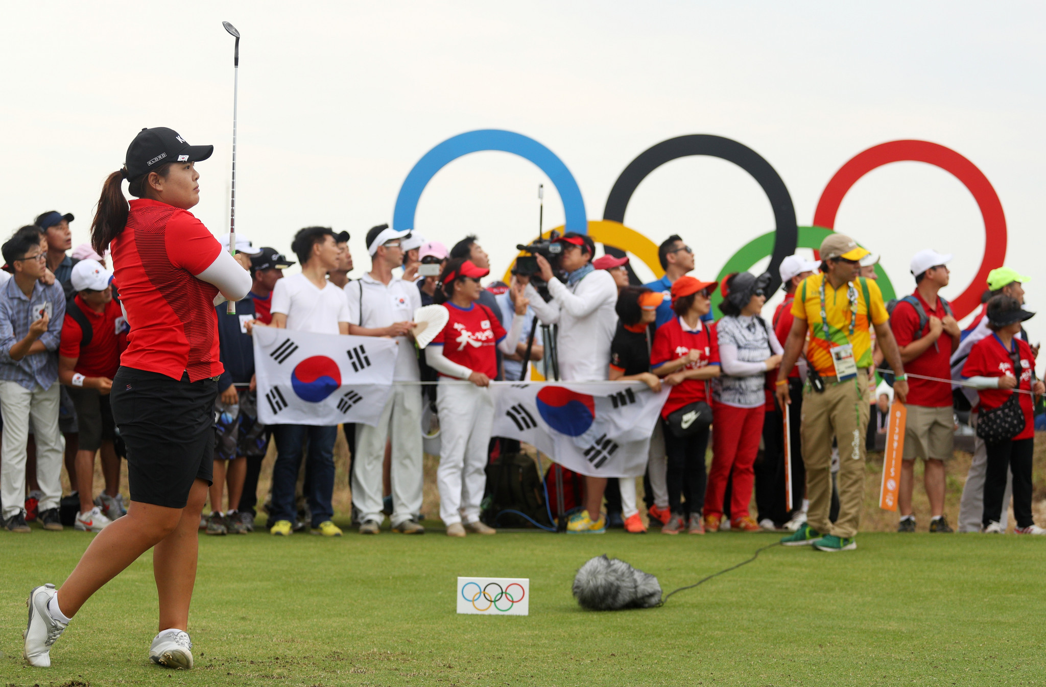 Could Olympic golf soon include a mixed team event? ©Getty Images
