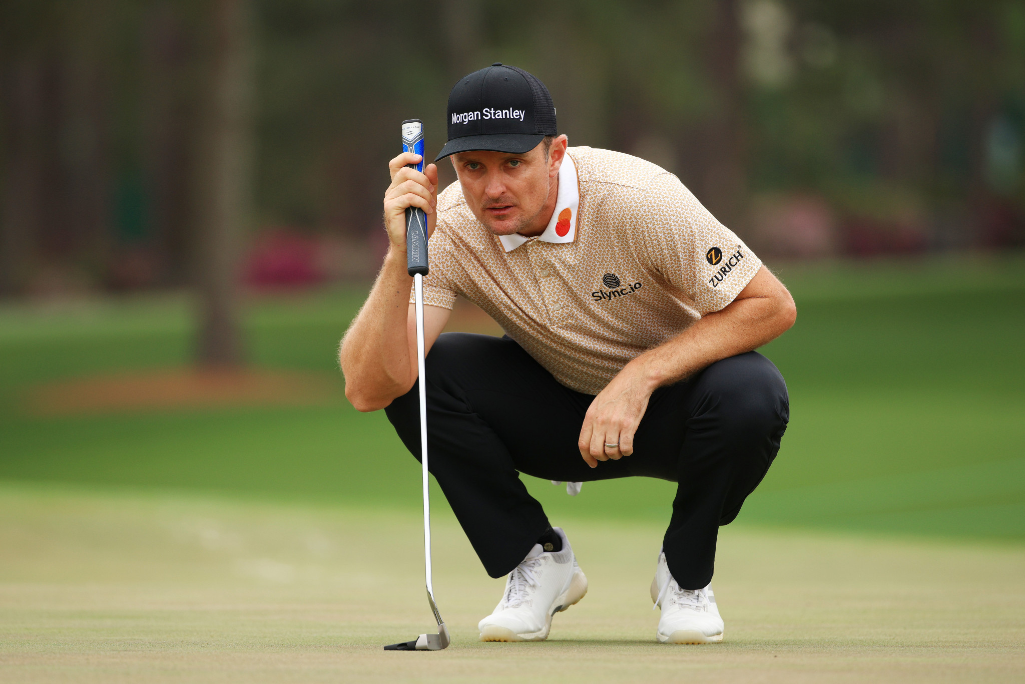 Justin Rose -Olympic champion at Rio 2016 - was controversially left out of the European team for the Ryder Cup ©Getty Images