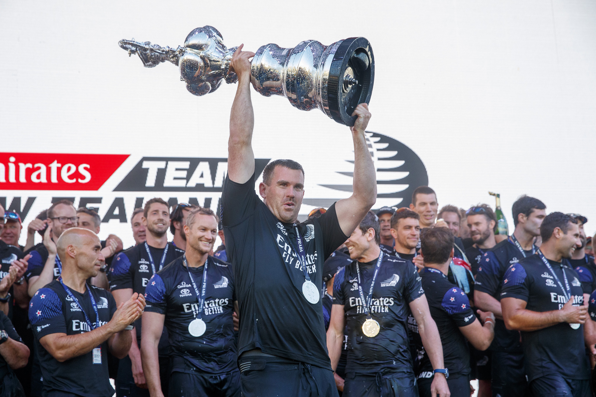 Emirates Team New Zealand won the America's Cup earlier this year ©Getty Images