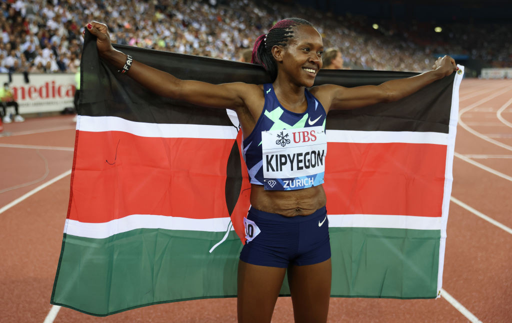 Double Olympic 1500m champion Kipyegon the marquee home name at Kip Keino Classic