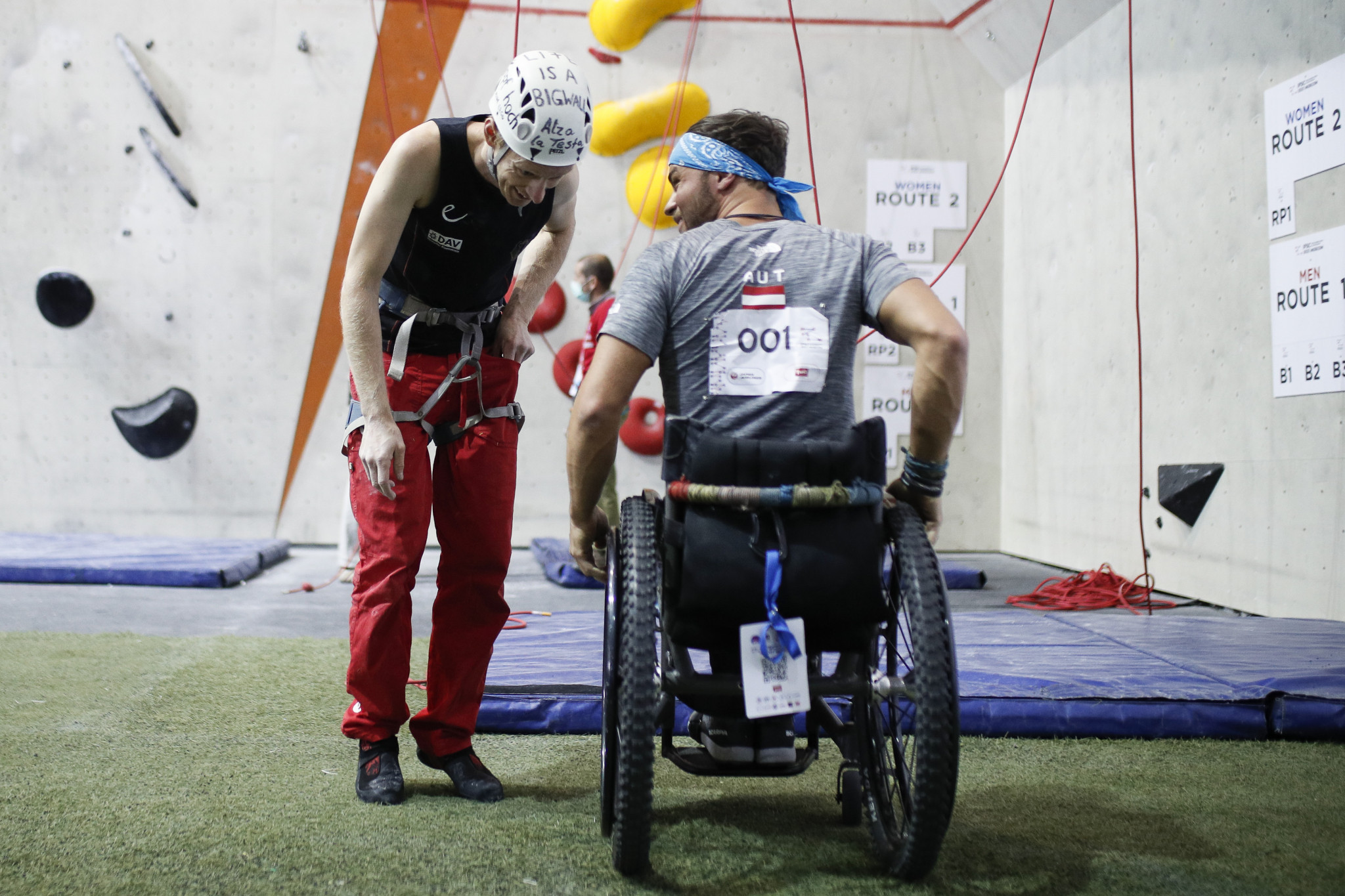 Para climbing champions crowned at IFSC World Championships in Moscow
