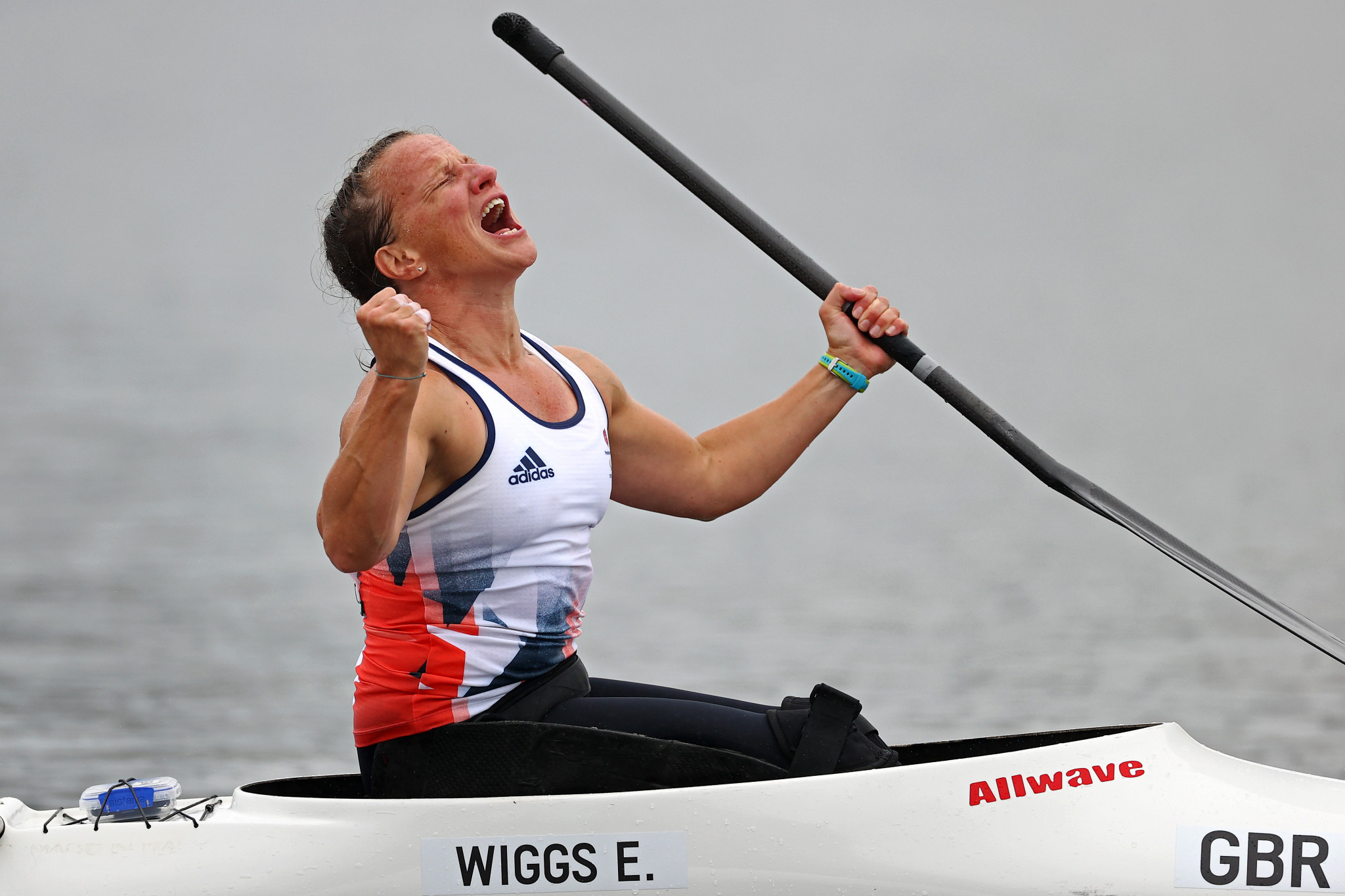 Britain's Eyers and Wiggs win gold at ICF Para Canoe World Championships