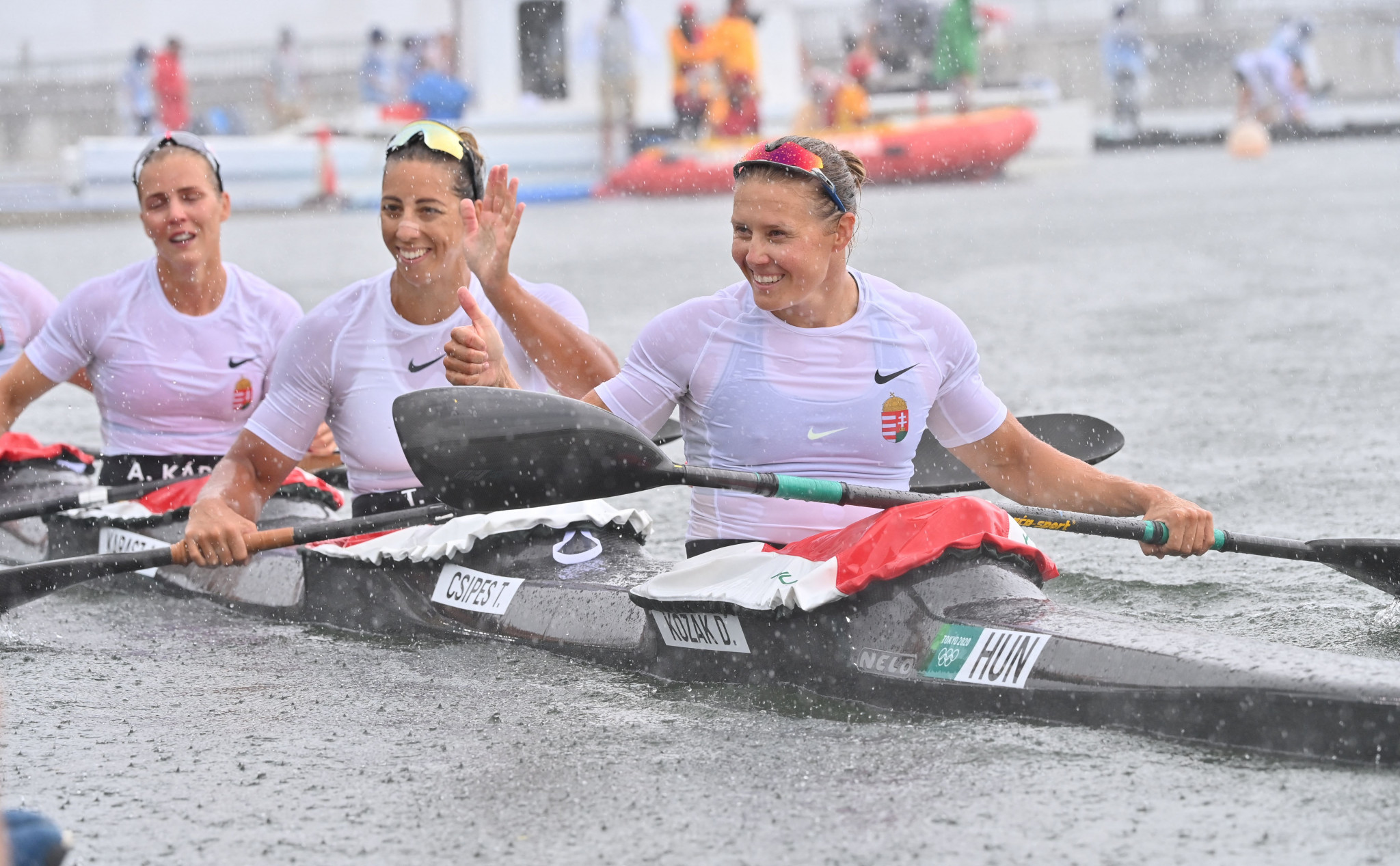 Hungarian Olympic champions on course for success at ICF Canoe Sprint World Championships