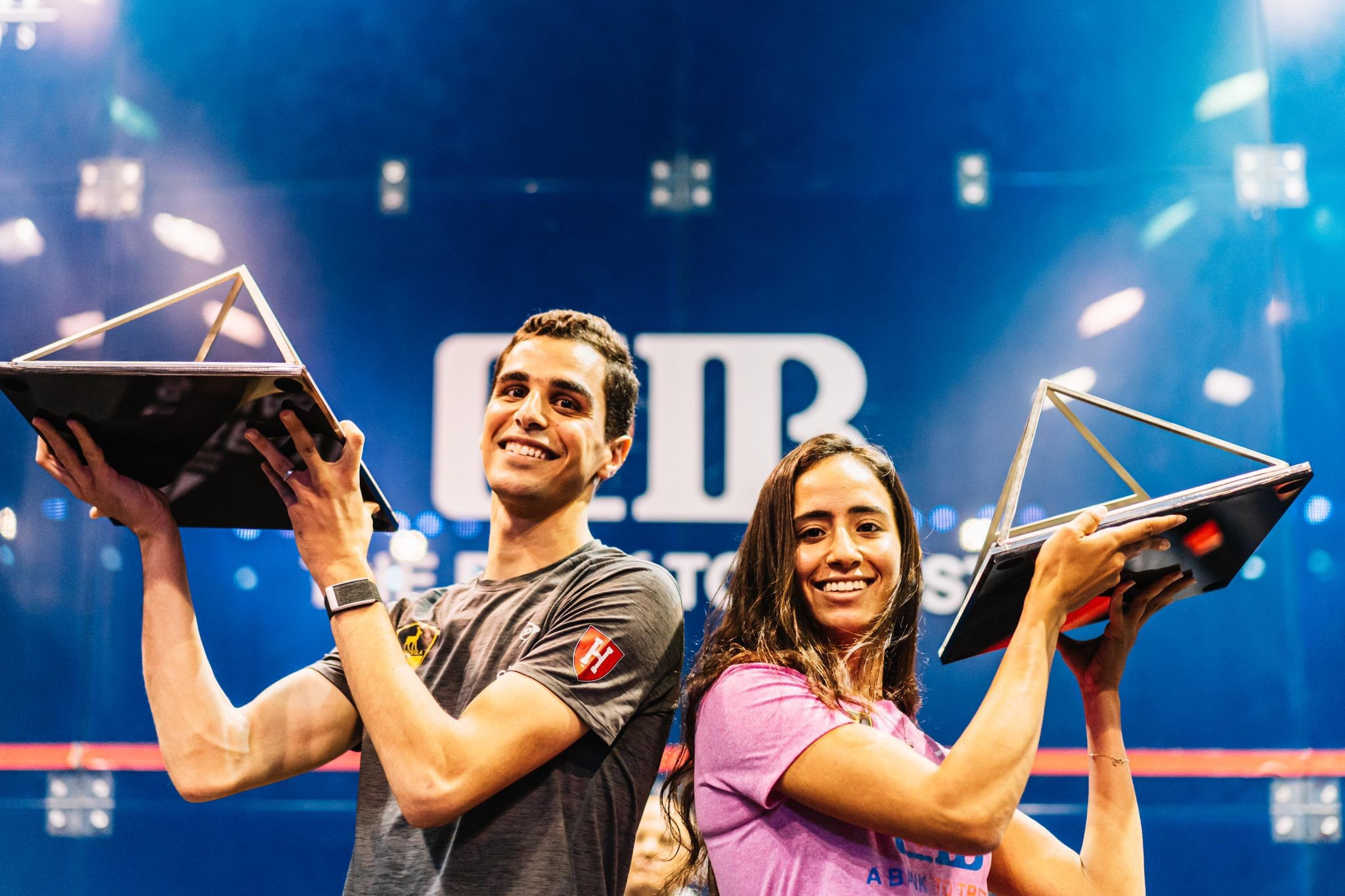 Gohar and Farag win PSA Egyptian Open titles after winning thrilling finals