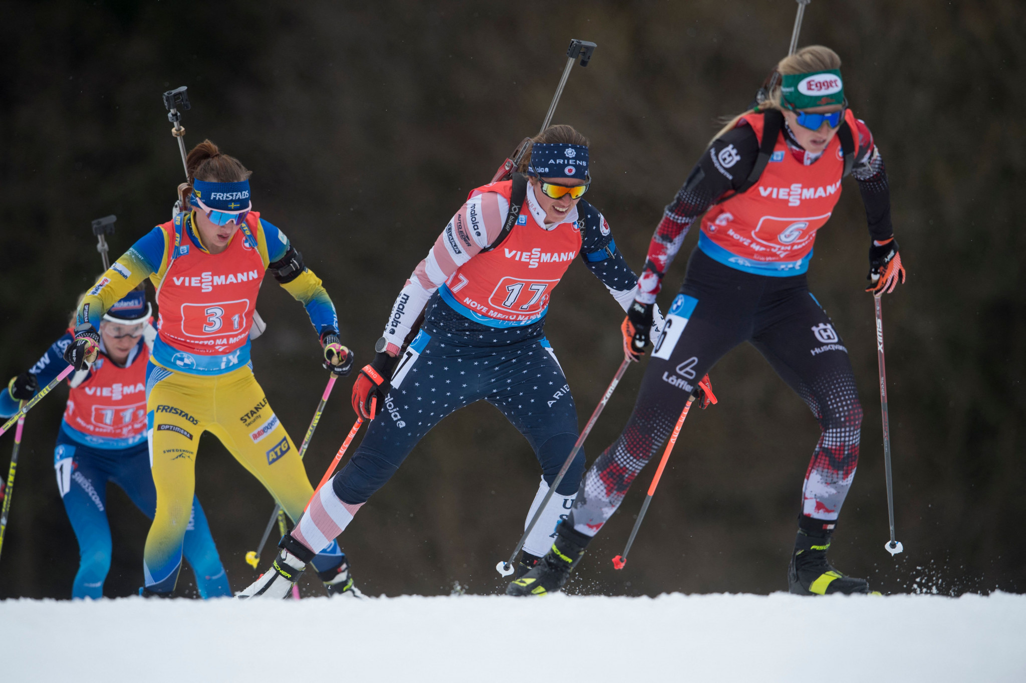 Biathlon is one of four sports that SCATTA will provide attire for ©Getty Images