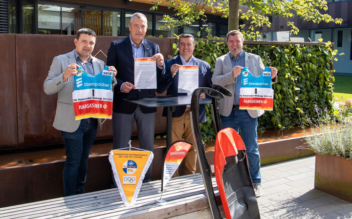 Hargassner signs on as main sponsor of Luge World Cup