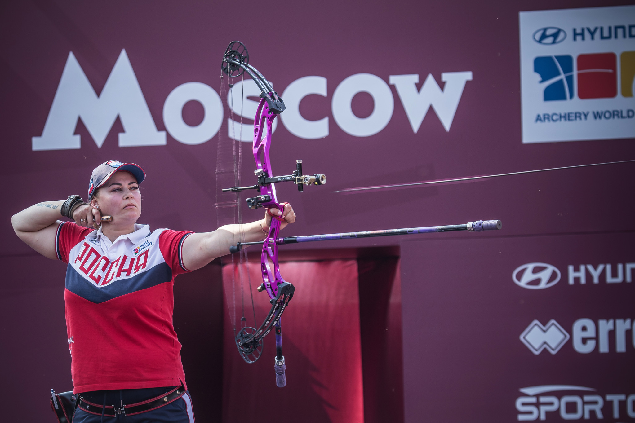 Natalia Avdeeva is the defending champion in the women's compound ©Getty Images