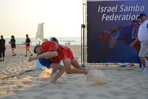 Israel holds first National Beach Sambo Championships