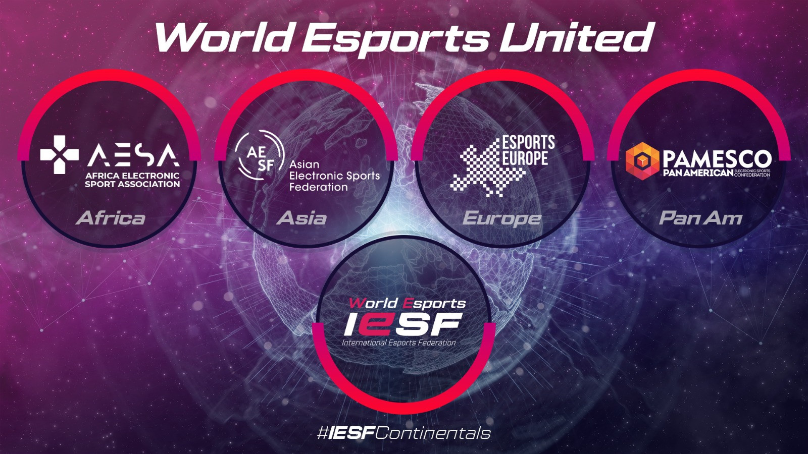 Three continental bodies join International Esports Federation