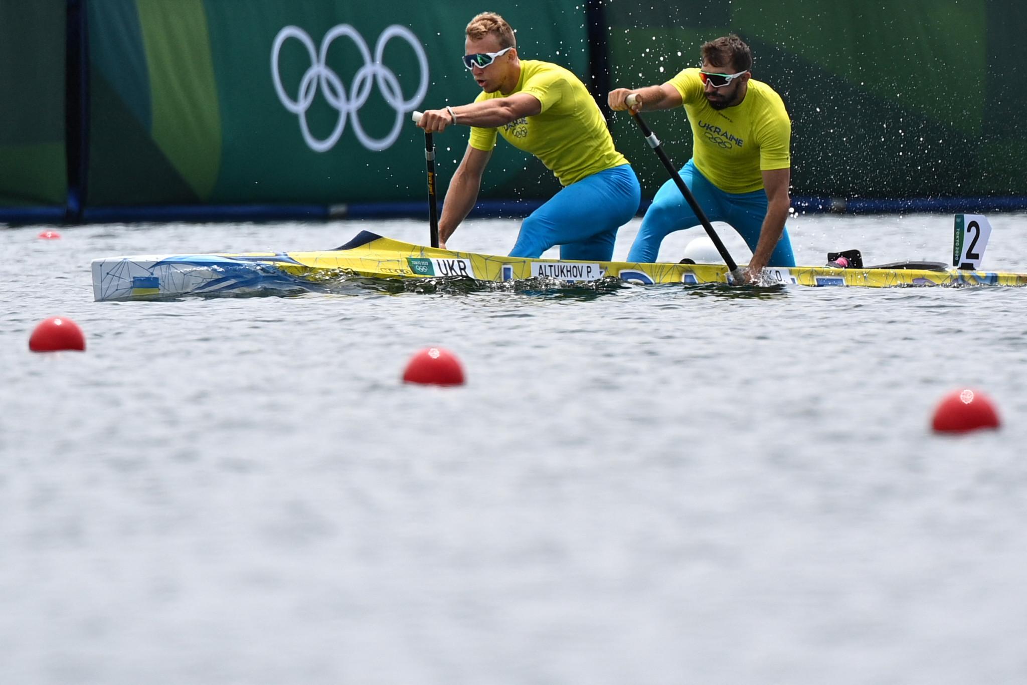 Ukraine wins fours titles at ICF Canoe Sprint World Championships
