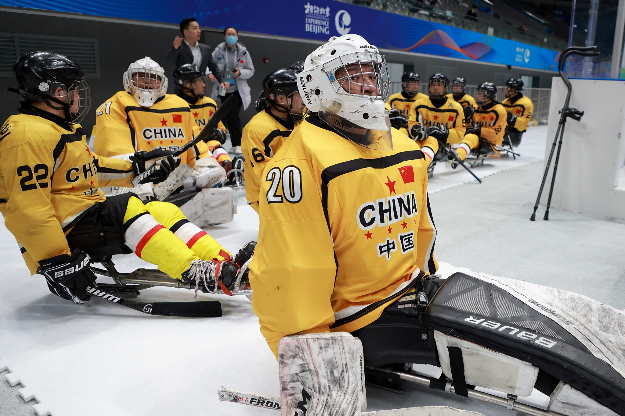 China destroy Finland on day two of World Para Ice Hockey Championships B-Pool