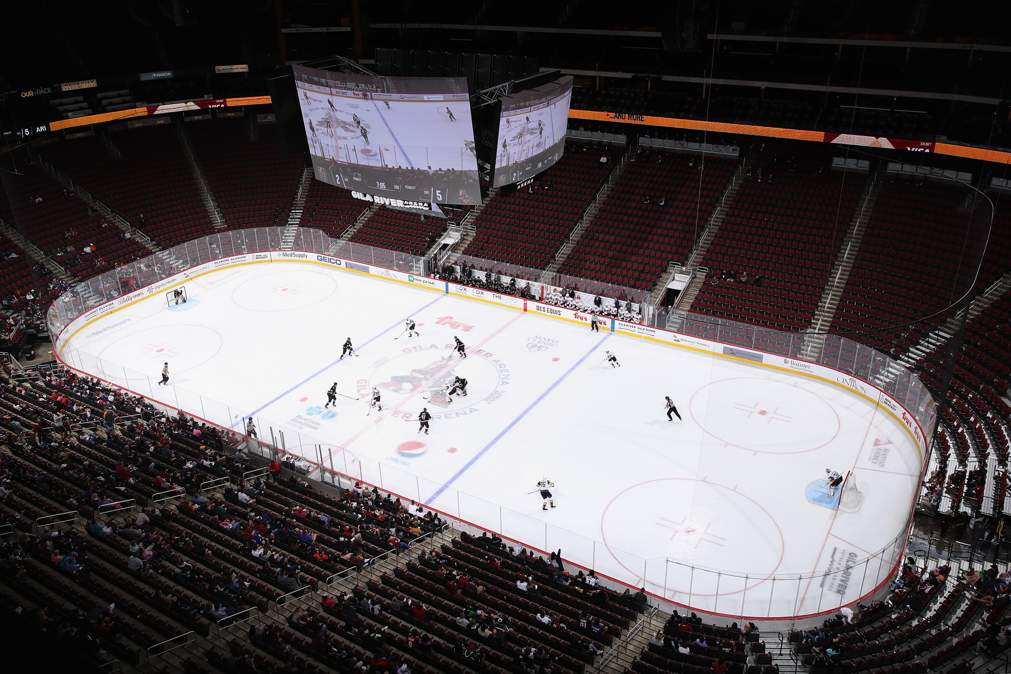 Fans could be required to be fully vaccinated to attend NHL matches ©Getty Images