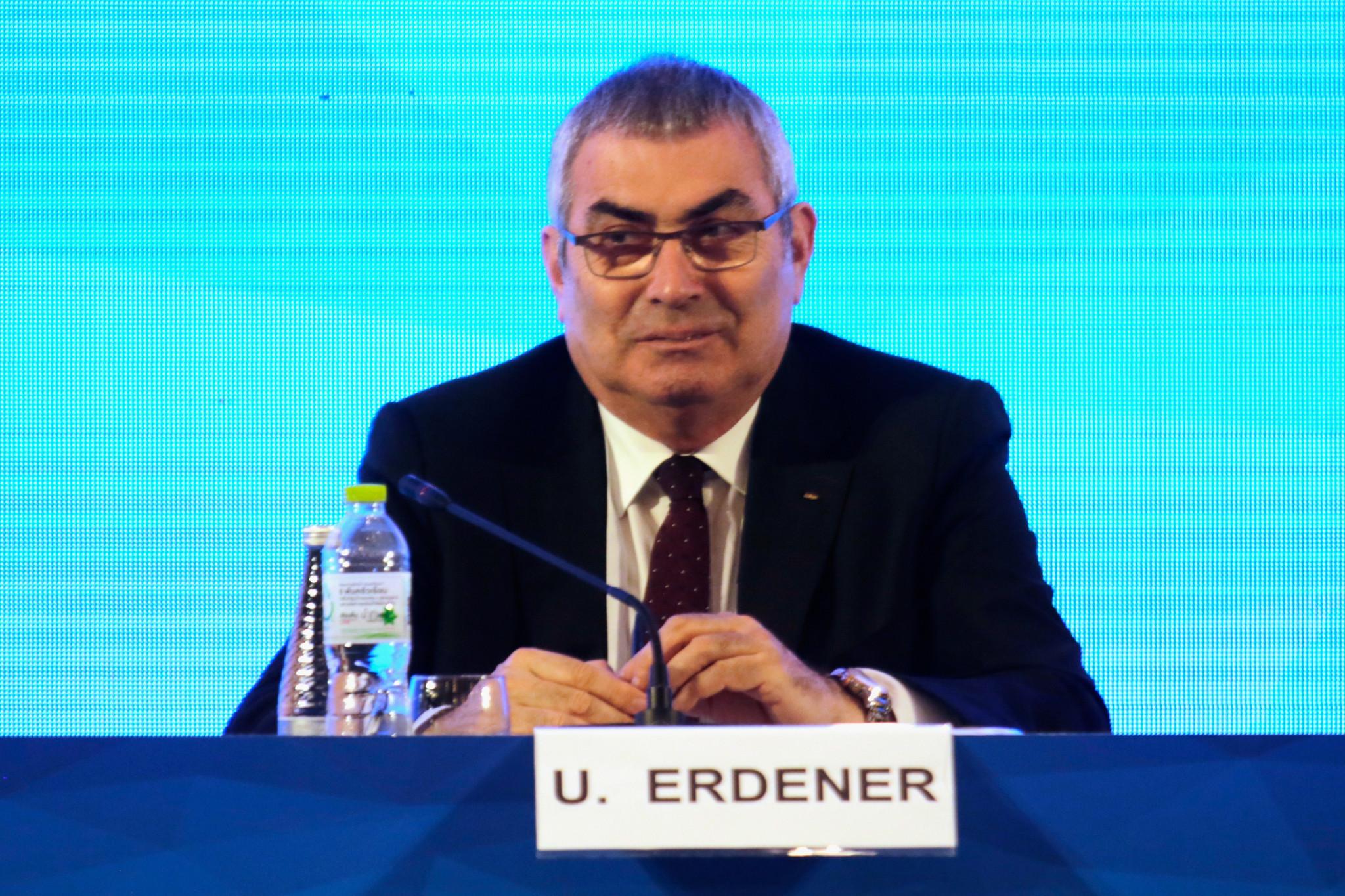 Uğur Erdener has been re-elected President of World Archery ©Getty Images