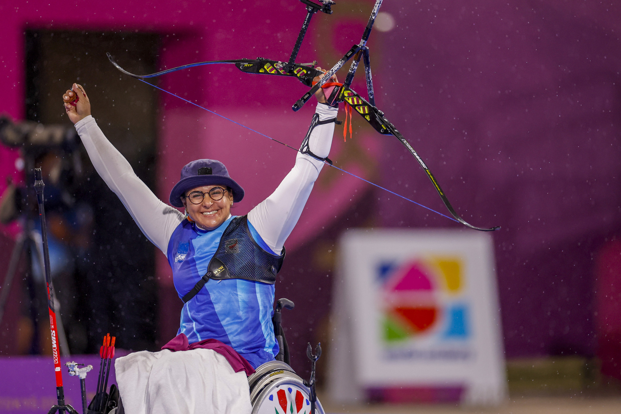 Paralympic champion Zahra Nemati was elected to the Para Archery Committee ©Getty Images