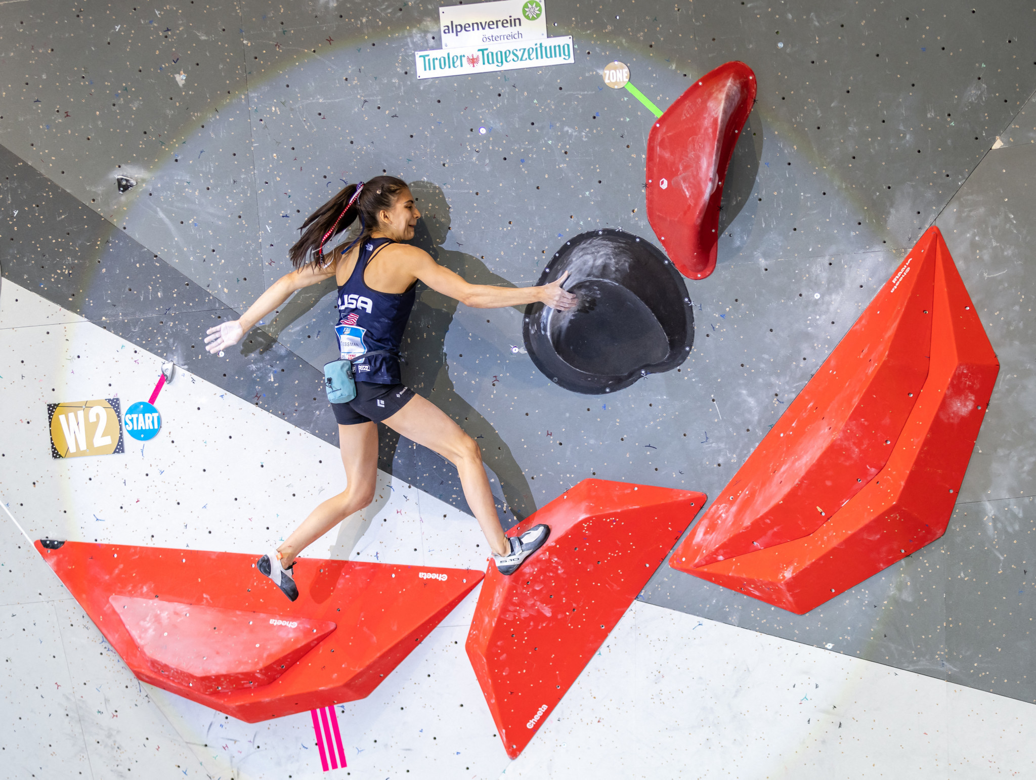 Grossman crowned women's bouldering champion at IFSC World Championships