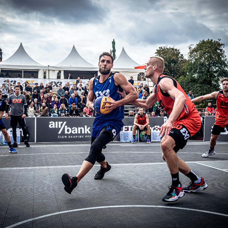 Lithuanian teams enjoy strong opening day of FIBA 3x3 Prague Masters