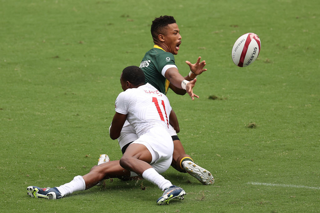 South Africa and US impress as World Rugby Sevens Series resumes after lengthy hiatus