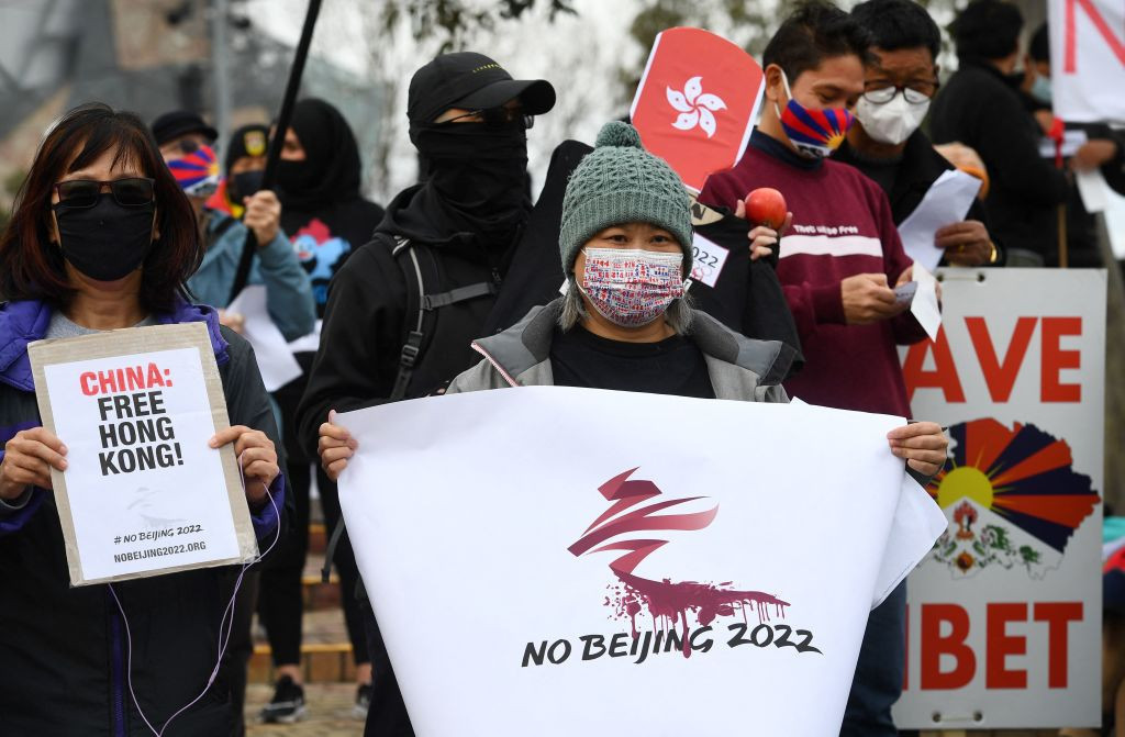 There have been significant calls for the IOC to move the 2022 Winter Olympics from Beijing ©Getty Images