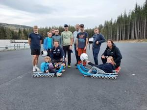 Italian luge legend holds FIL school event in Norway