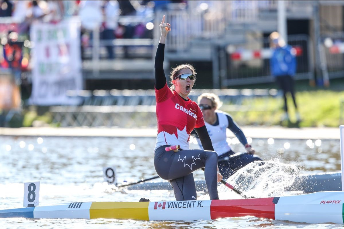 Fisher and Vincent among winners on final day of ICF Canoe Sprint World Championships