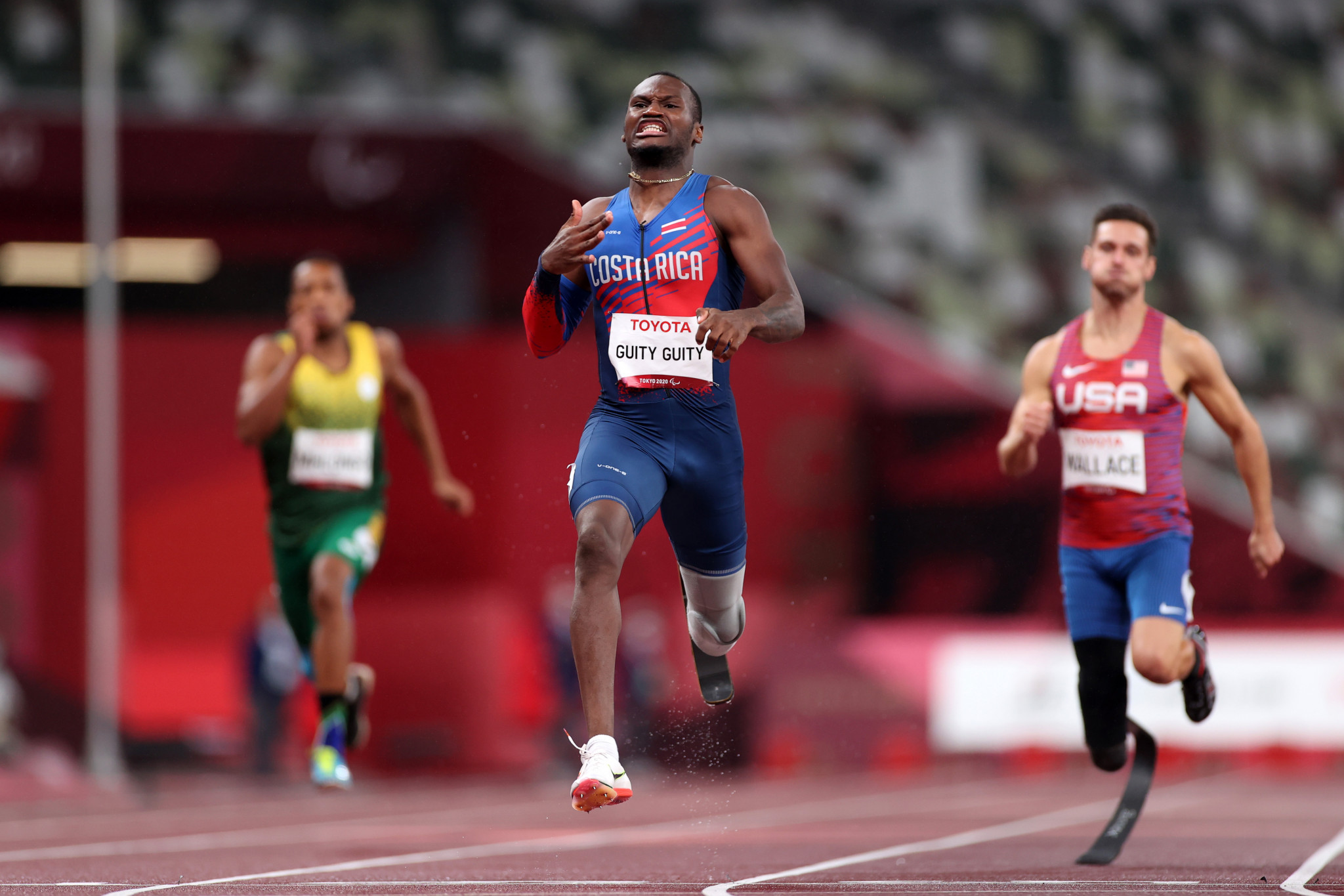 Sherman Isidro Guity Guity won Costa Rica's first Paralympic gold medal ©Getty Images