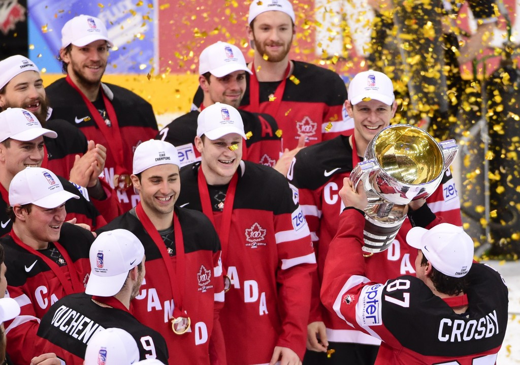 Canada have secured the gold medal at the Ice Hockey World Championship in the Czech Republic ©Getty Images
