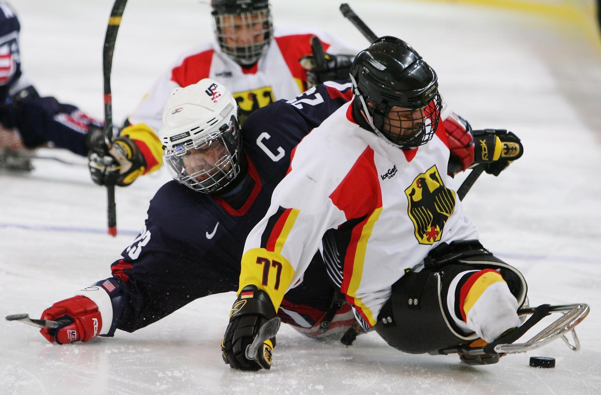 China and Germany hand out heavy defeats at World Para Ice Hockey Championships B-Pool