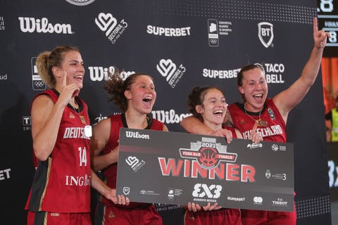 Germany defeat Canada to claim Women's 3x3 Series title