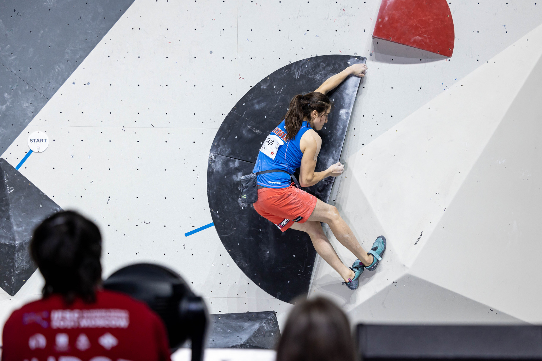 The IFSC Climbing World Championships are due to draw to a close tomorrow ©Jan Virt/IFSC